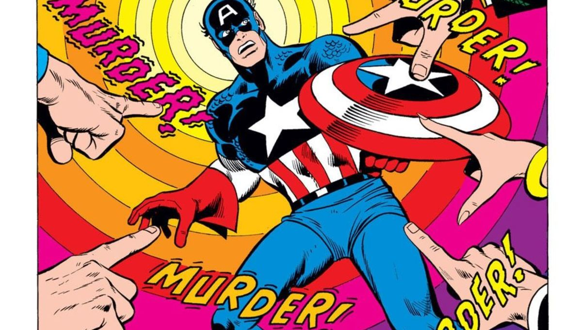 The title splash to Captain America and the Falcon #170