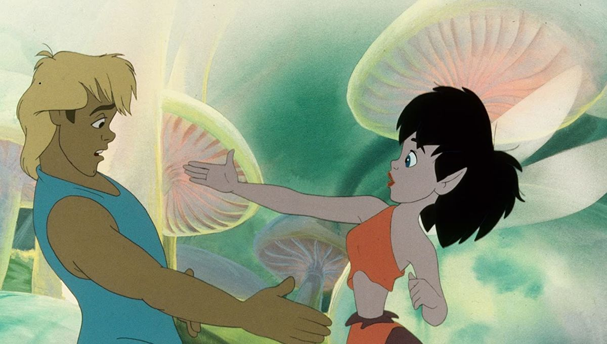 Crysta and Zak in FernGully