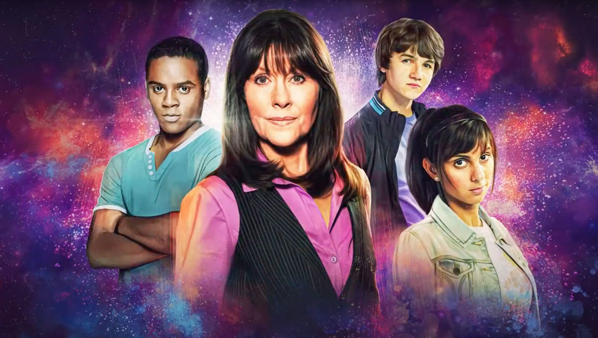 Doctor Who Sarah Jane Smith and cast