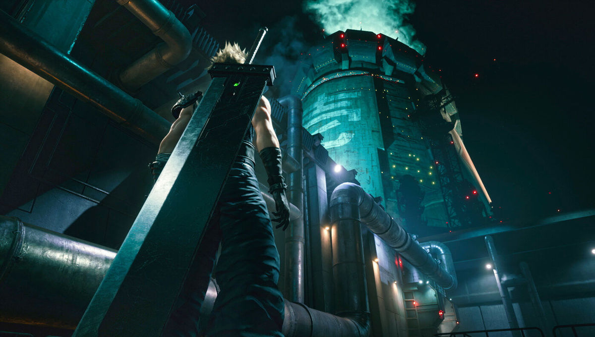 Cloud Strife in the Final Fantasy VII Remake cover banner