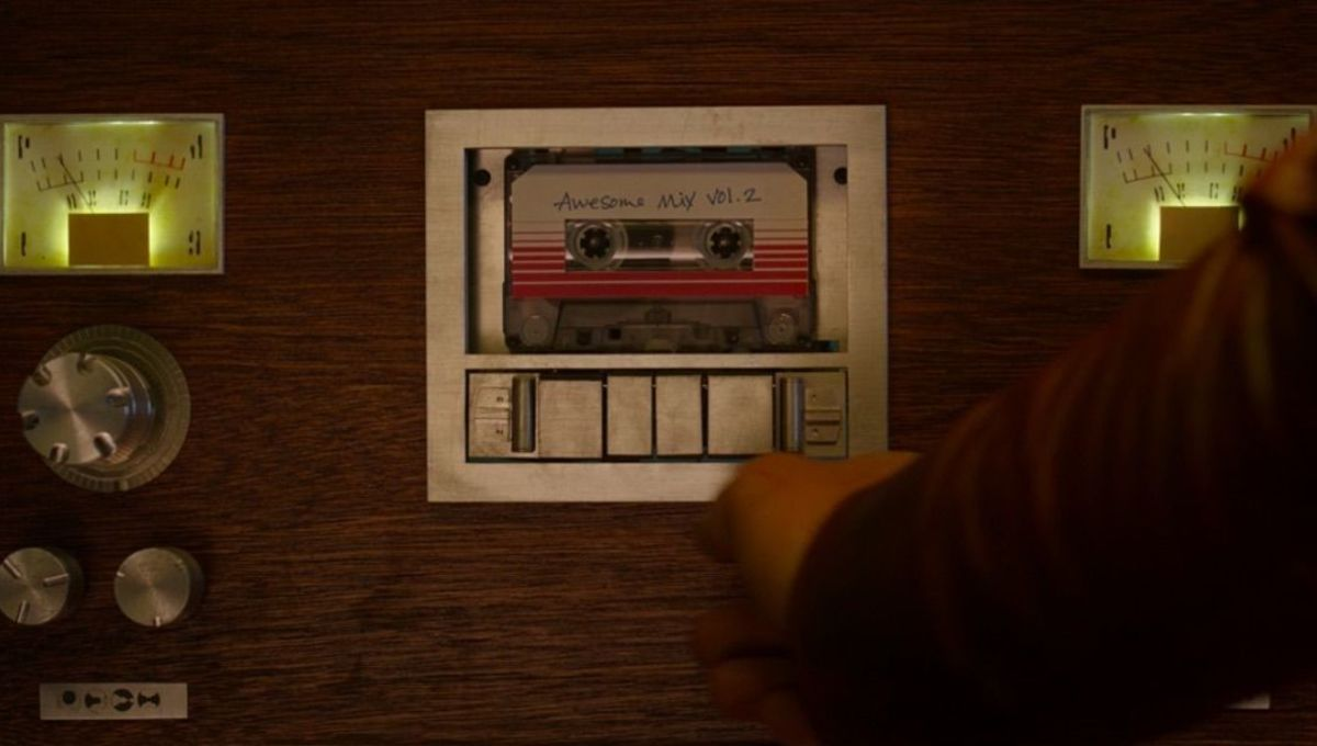 Guardians of the Galaxy tape deck