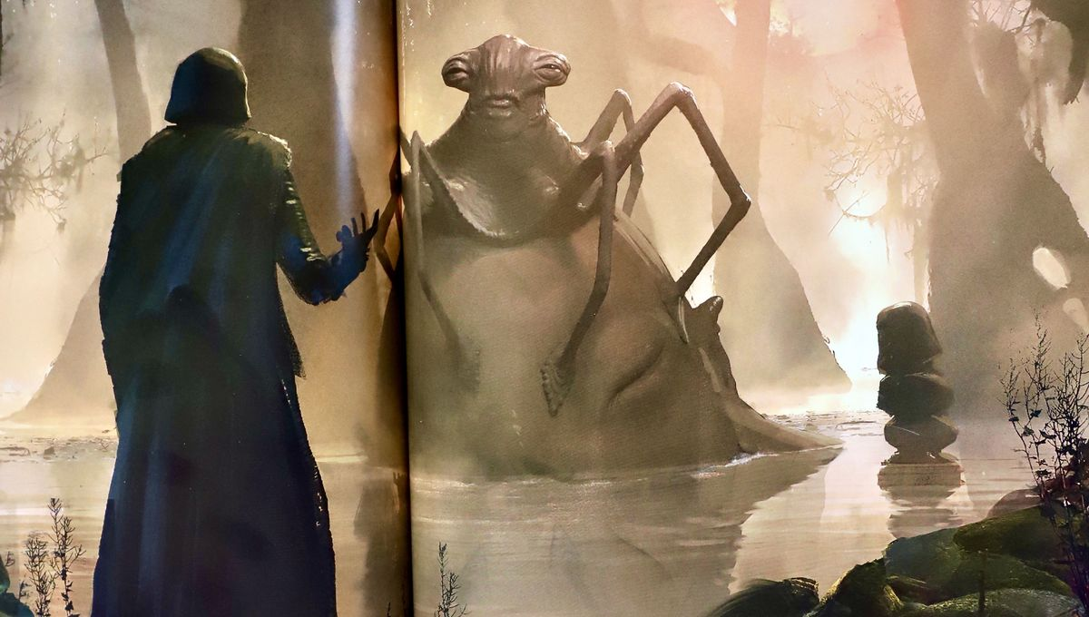 Star Wars Rise Of Skywalker Art Book Reveals Unused Idea For Oracle Character