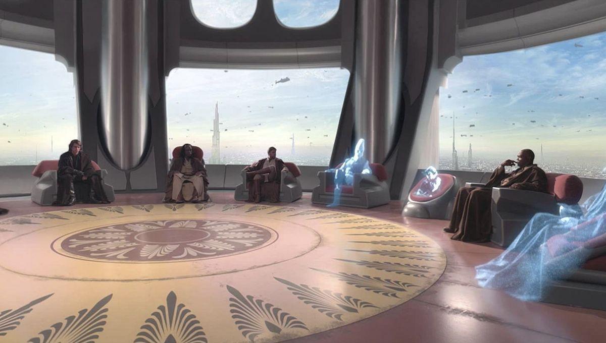 Jedi Council in Star Wars
