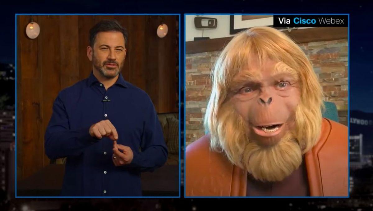 Jimmy Kimmel Doctor Zaius