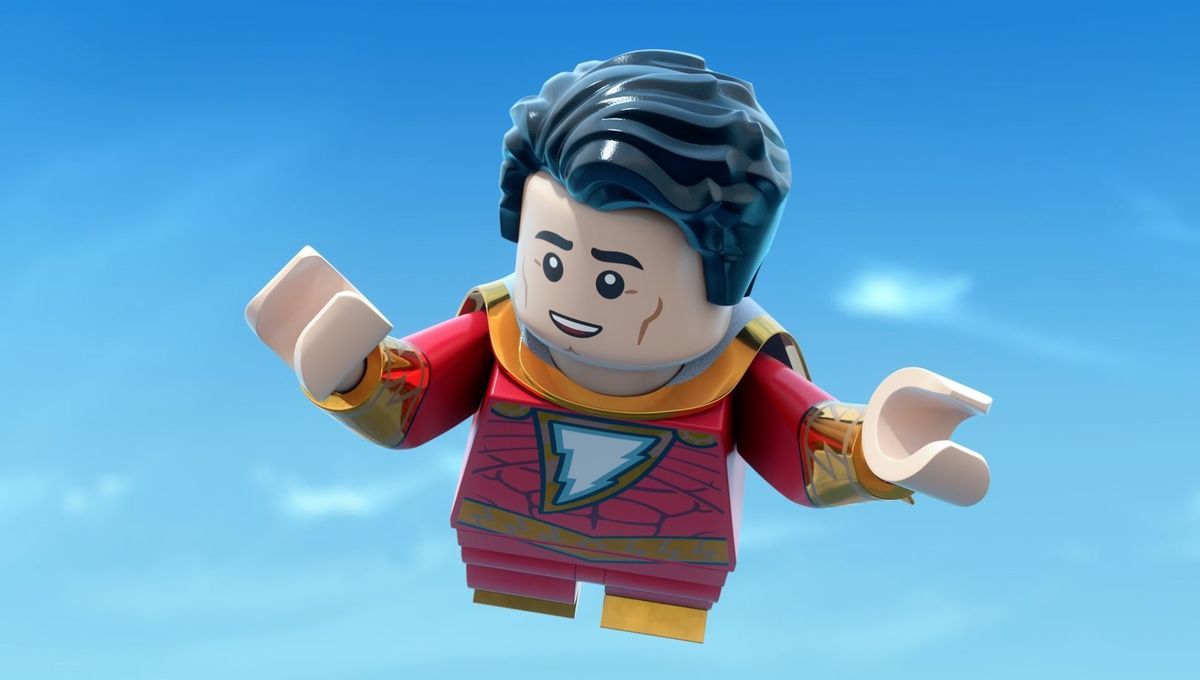 LEGO Shazam - Shazam flying