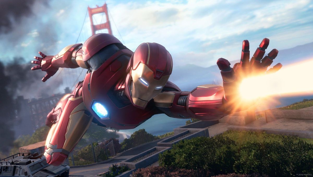 Iron Man soars in Avengers video game