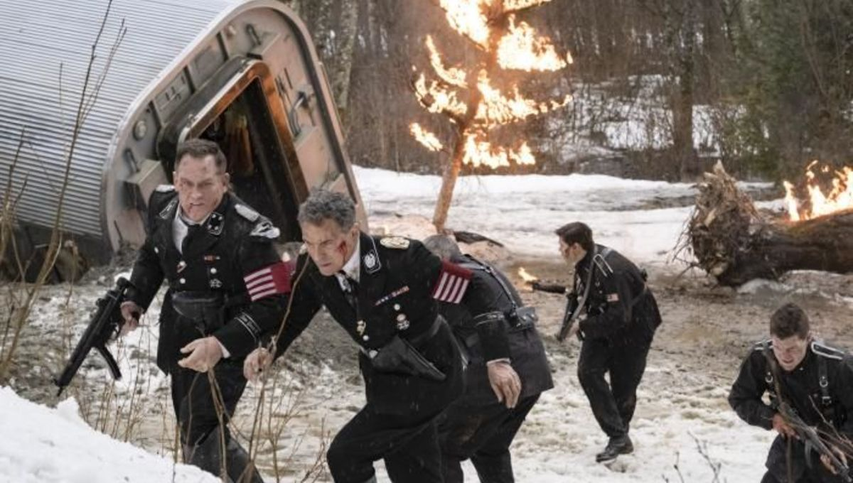 Scene from the finale of The Man in the High Castle