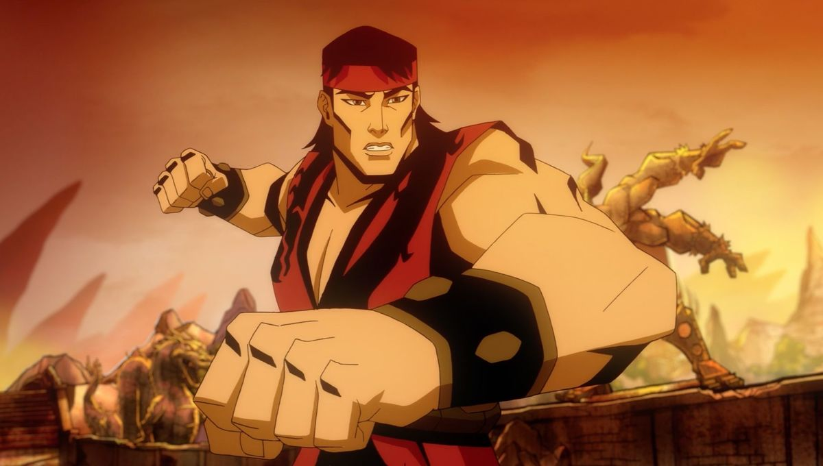 Liu Kang and Kitana throw down in Mortal Kombat Legends ...