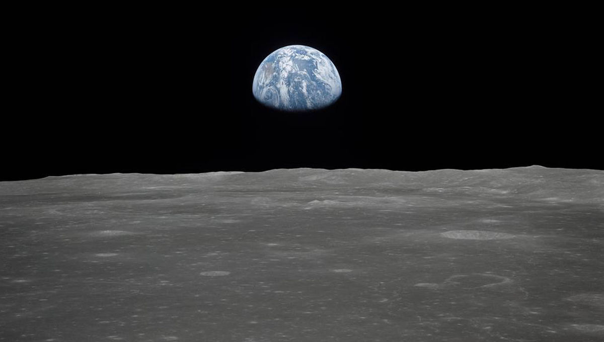 NASA image of Earth from the Moon