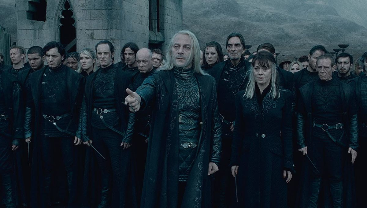 Jason Isaacs Harry Potter and the Deathly Hallows Part 2
