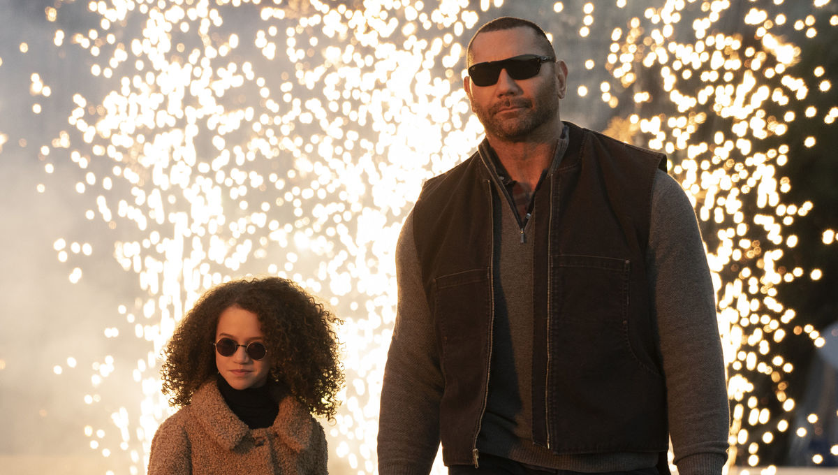 Dave Bautista's 'My Spy' Moves to Amazon For Streaming Debut