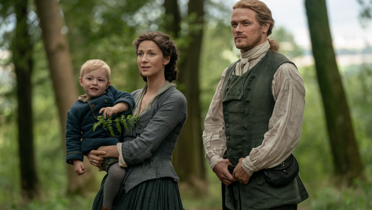 Outlander 508 Frasers and Jemmy
