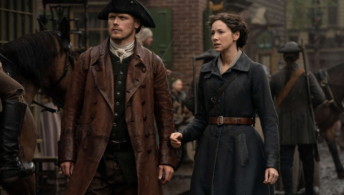 Outlander 510 Jamie and Claire