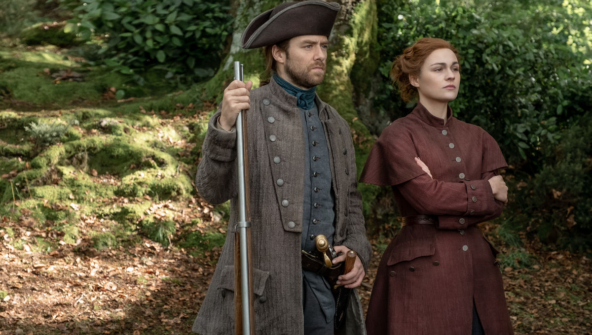Outlander 510 Roger and Brianna