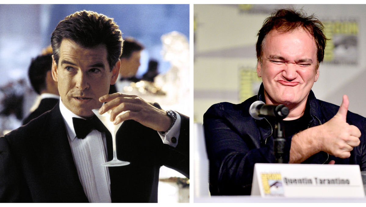 Pierce Brosnan Quentin Tarantino