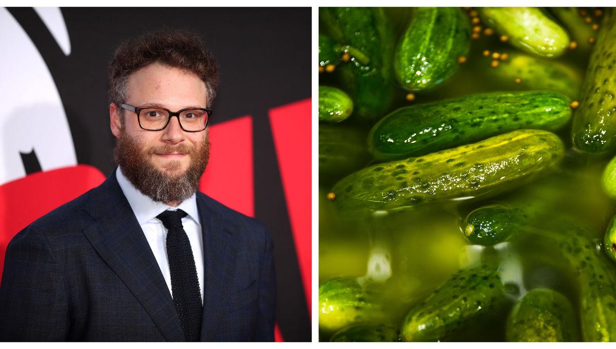 Seth Rogen pickles