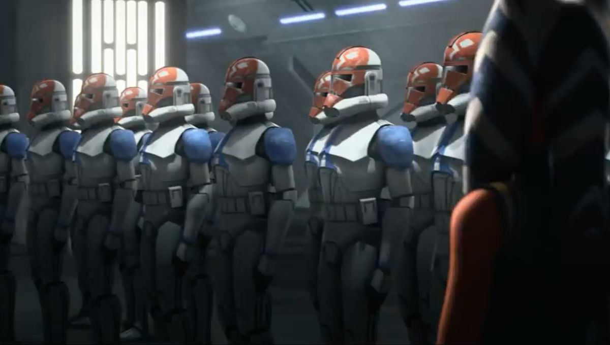 Star Wars: The Clone Wars (Ahsoka and the clones)