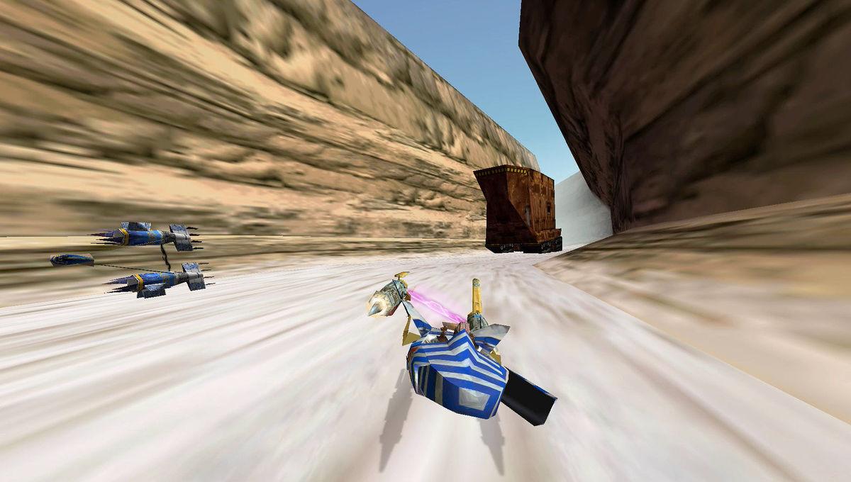 Star Wars Episode I Racer game