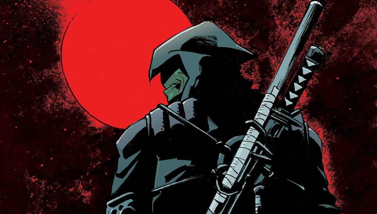 TMNT The Last Ronin cover closeup