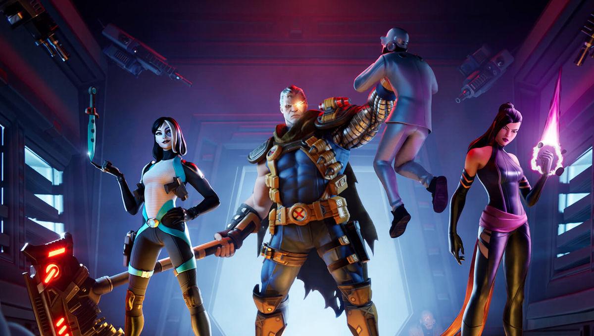Marvel X Force in Fortnite