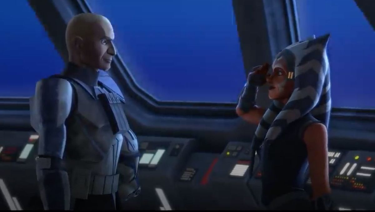 Star Wars: The Clone Wars (Ahsoka and Rex)