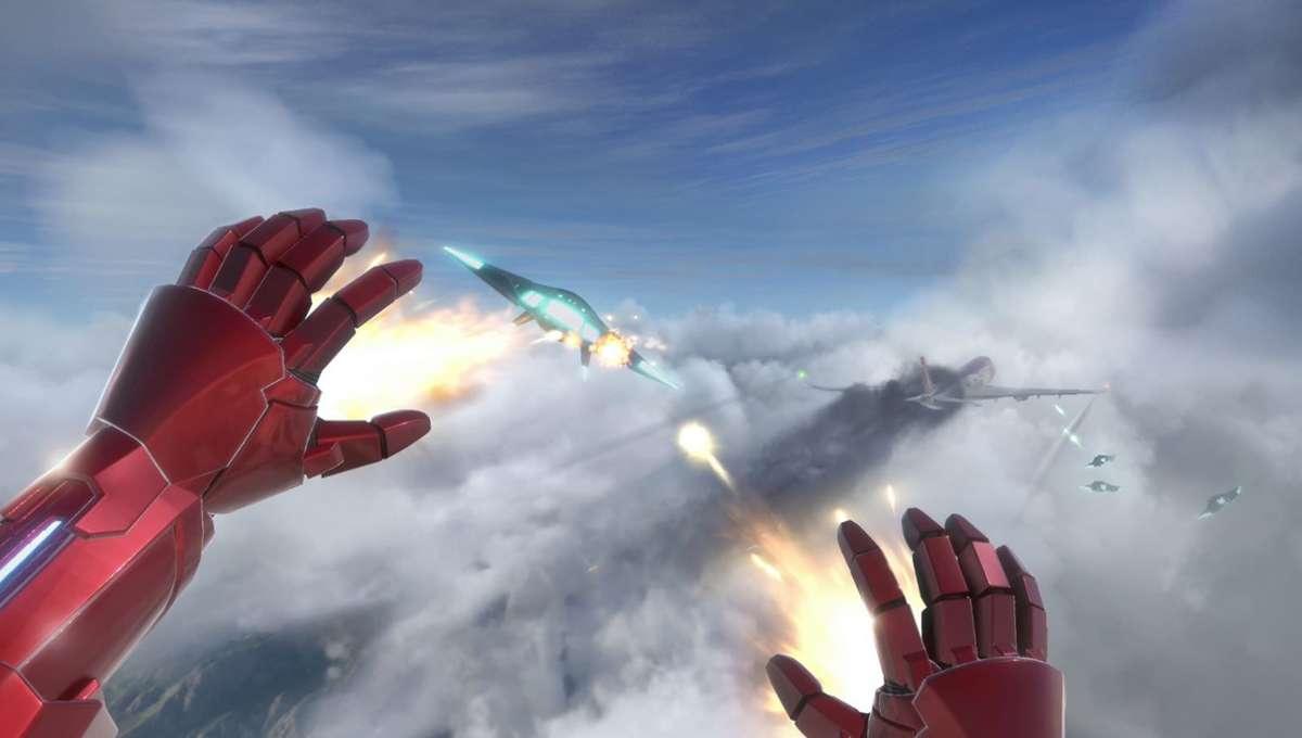 Iron Man VR gameplay