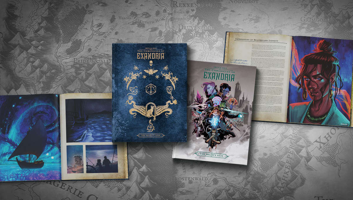 Critical Role art book: The Chronicles of Exandria - The Mighty Nein