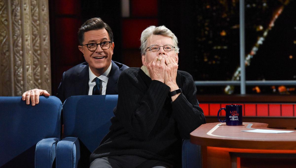 Stephen King Stephen Colbert