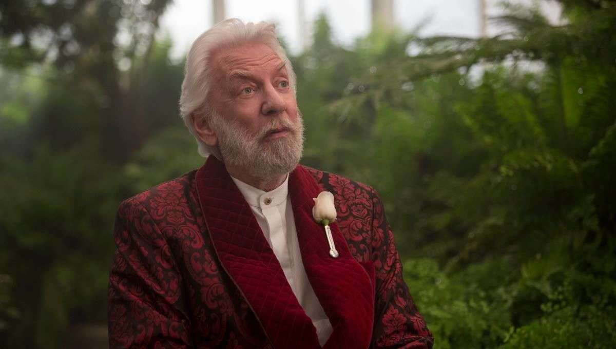 The Hunger Games Donald Sutherland