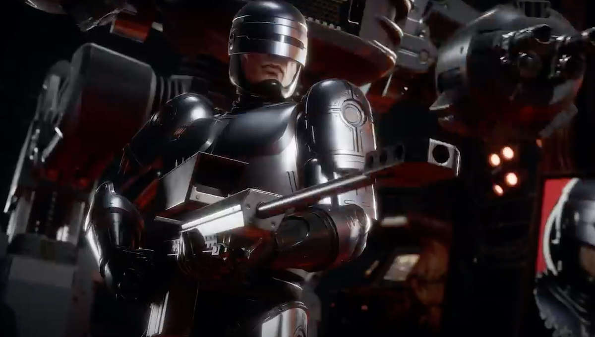 RoboCop in Mortal Kombat 11