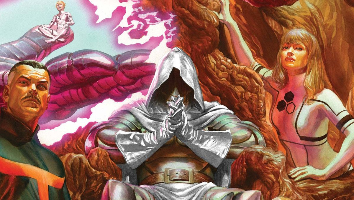 Secret Wars 4 cover