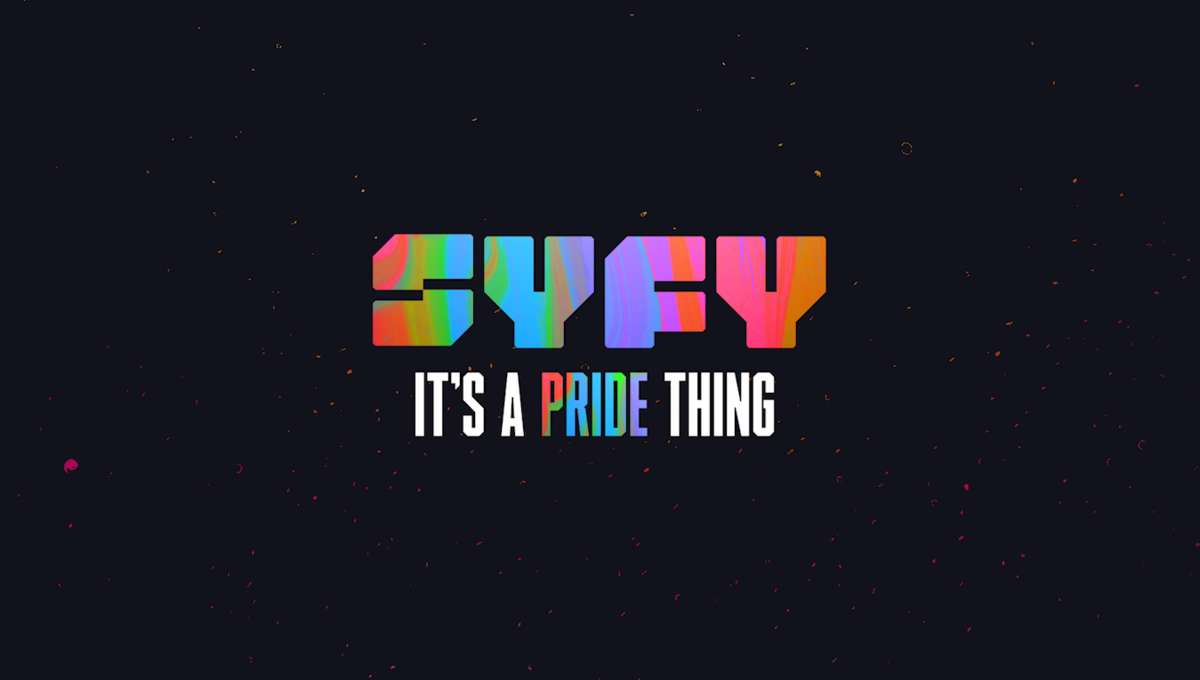 SYFY Pride Month logo