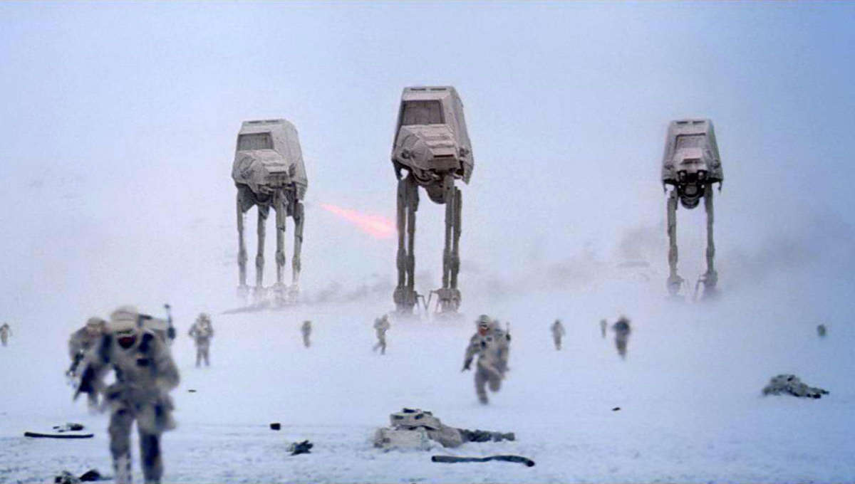 The Battle of Hoth Star Wars The Empire Strikes Back