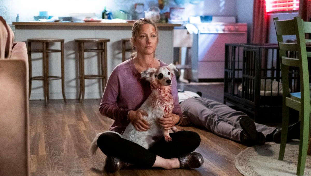 Judy Greer in Into the Dark: Good Boy