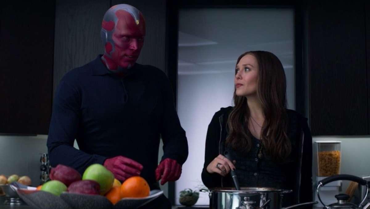 Vision Scarlet Witch Captain America Civil War