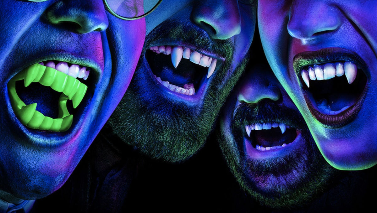 Vampires bare their fangs in What We Do in the Shadows Season 2 banner
