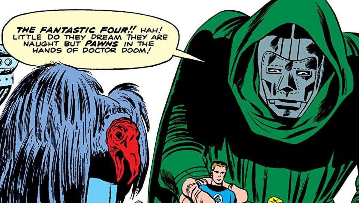 Doctor Doom first appearance
