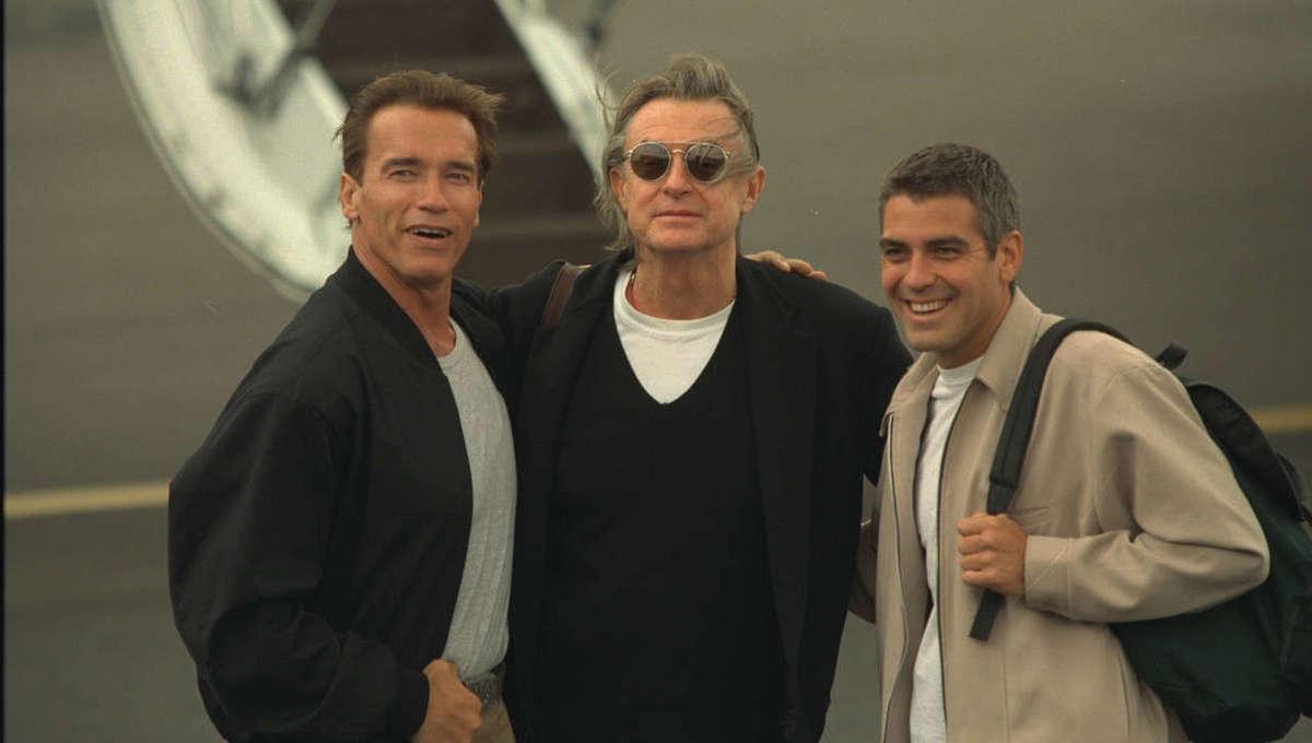 joel schumacher Arnold Schwarzenegger george clooney getty