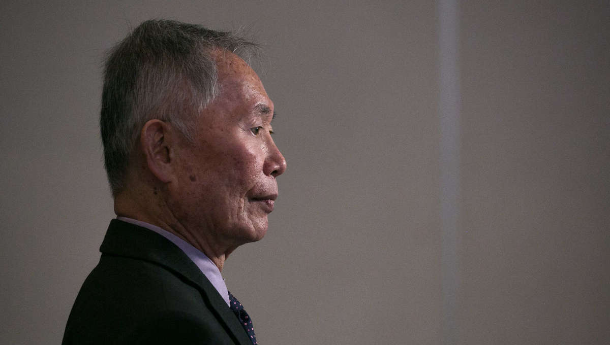 George Takei at The Japanese American National Museum