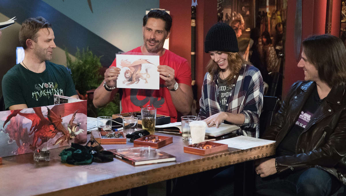 Critical Role & Joe Manganiello