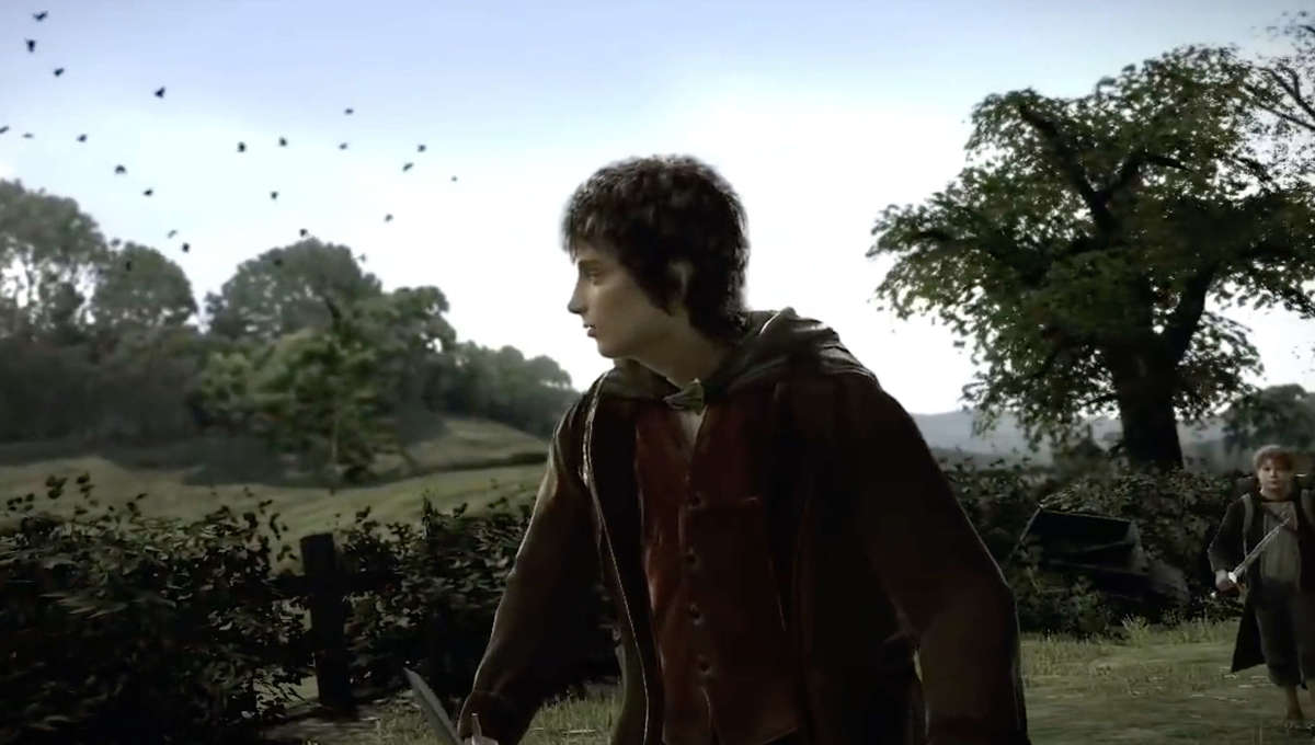 Frodo walks the Shire in canceled Lord of the Rings game