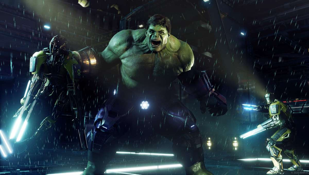 Hulk in Marvels Avengers for PS5