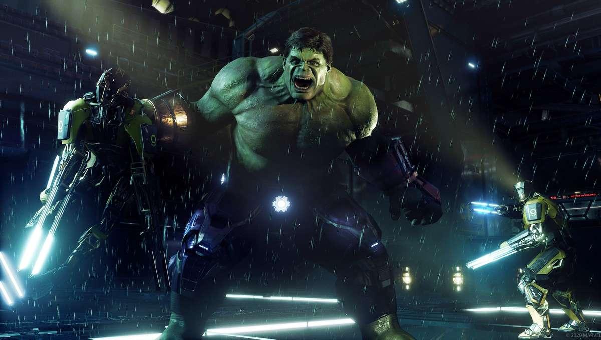 Hulk in Marvels Avengers for PS5