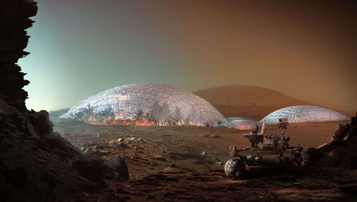 Mars Science City concept