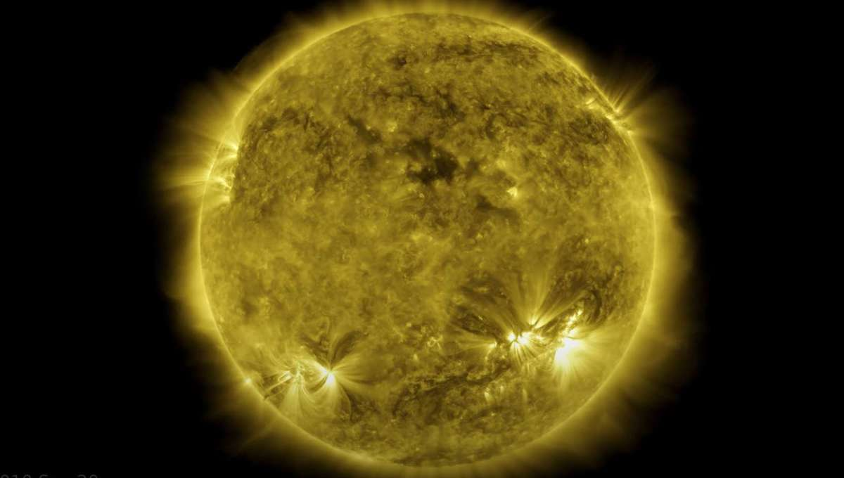 NASA releases epic 10-year timelapse of Sun