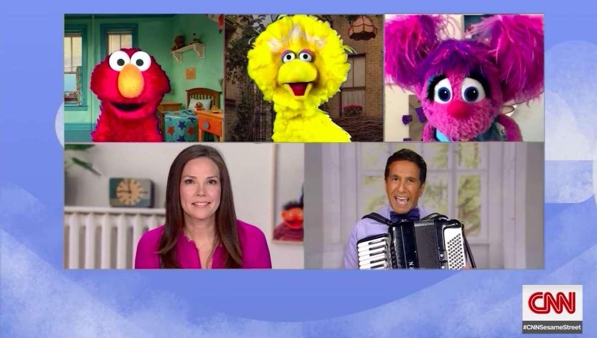 Sesame Street CNN coronavirus town hall