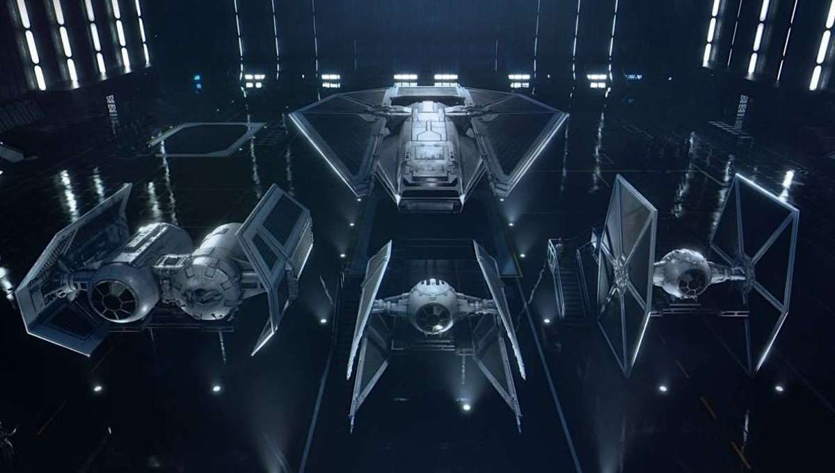 Star Wars Squadrons Imperial fighters