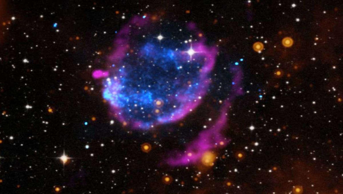 NASA image of a supernova remnant