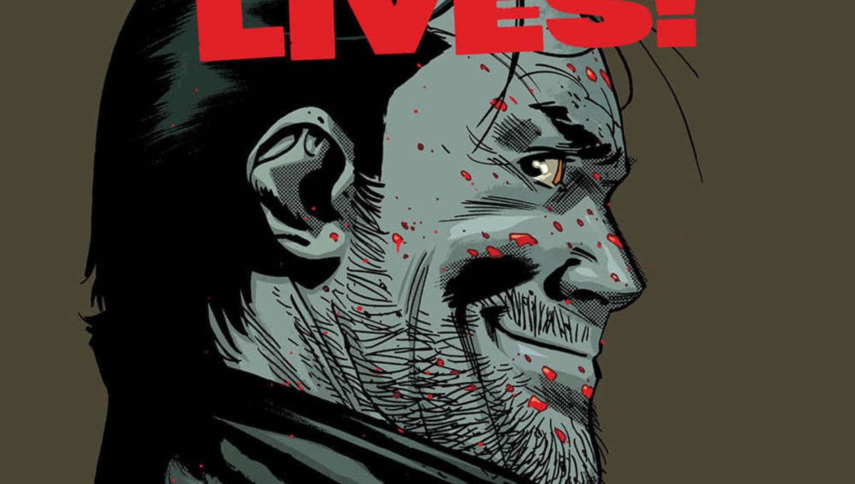 The Walking Dead Negan Lives cover