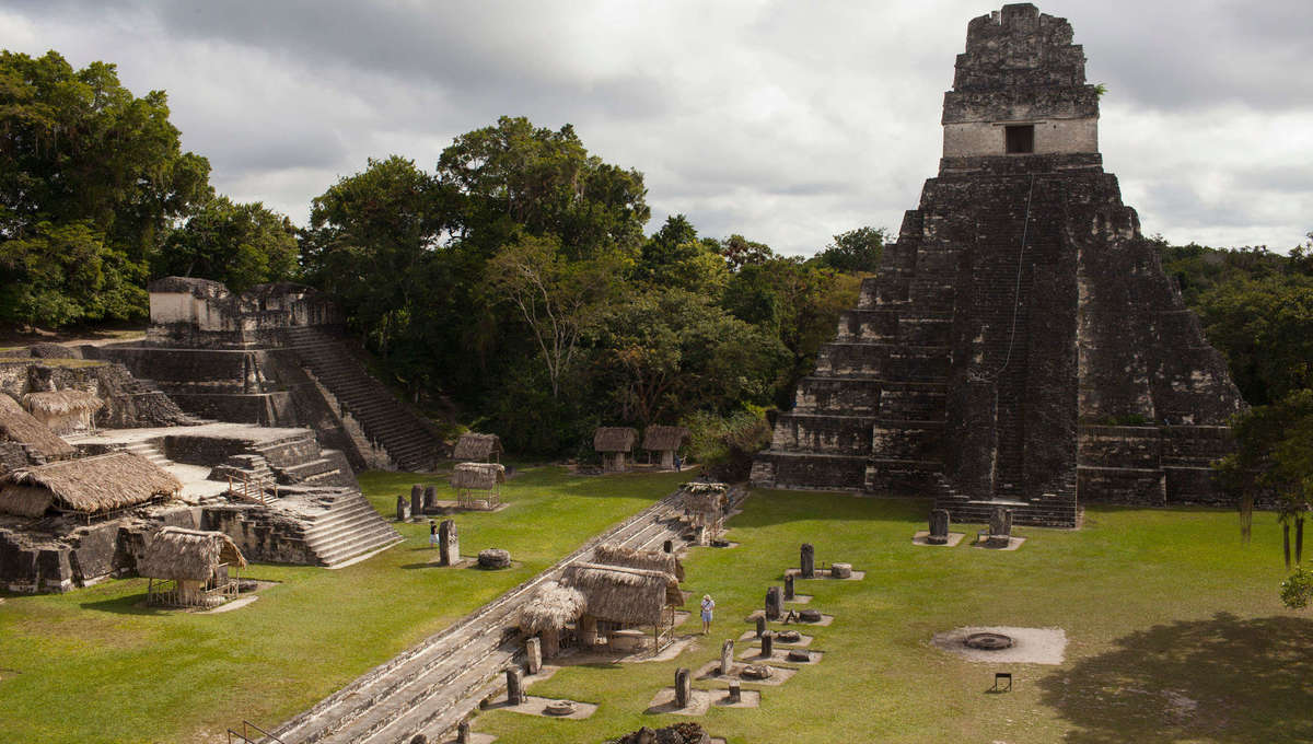Ancient Mayan city of Tikal
